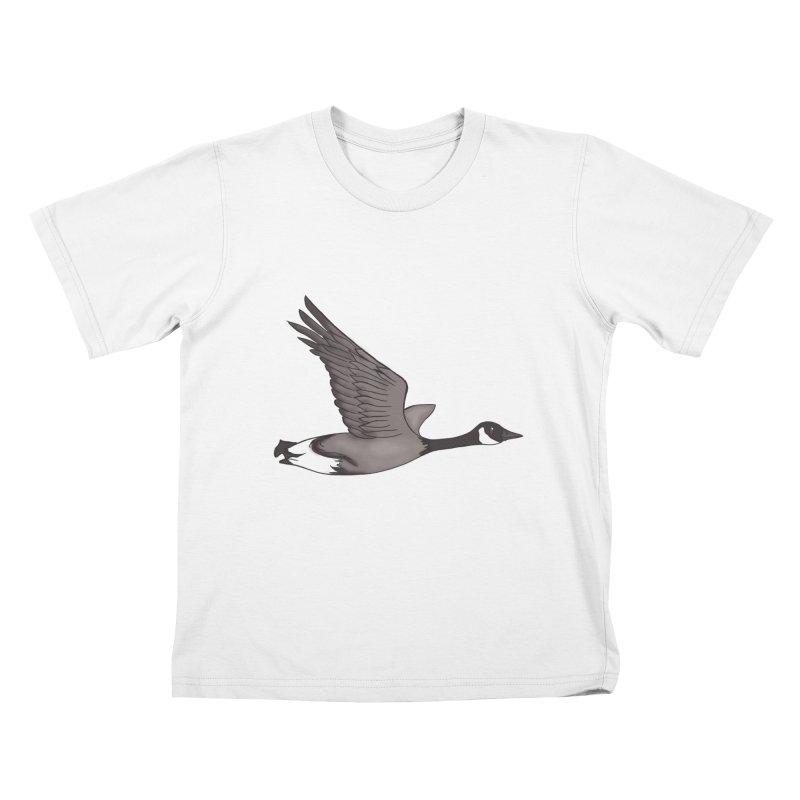 Goose Kids T-Shirt by carolyn sehgal's Artist Shop
