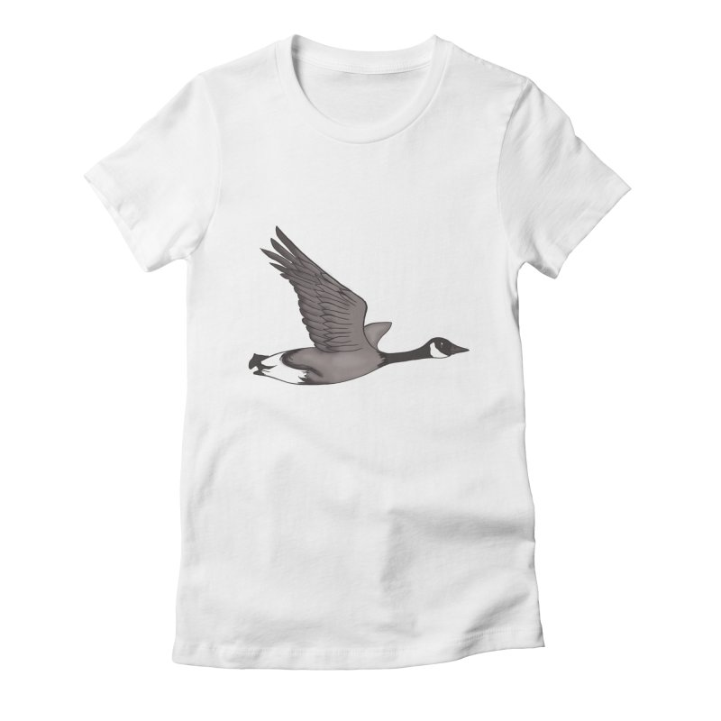 Goose Women's T-Shirt by carolyn sehgal's Artist Shop