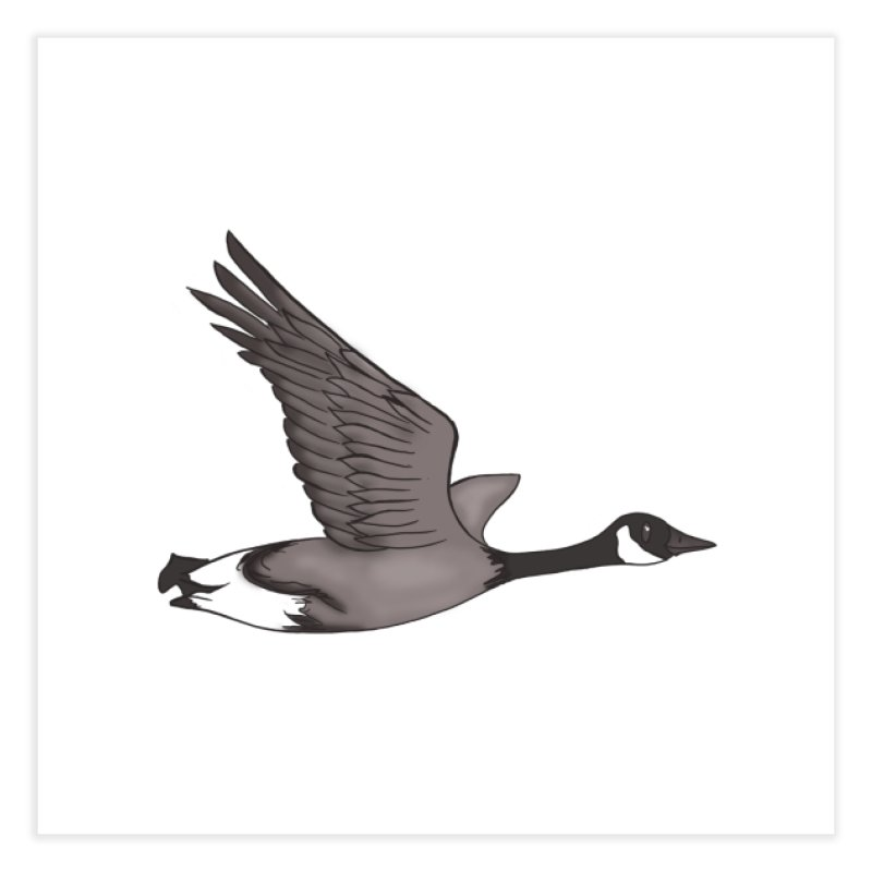 Goose Home Fine Art Print by carolyn sehgal's Artist Shop
