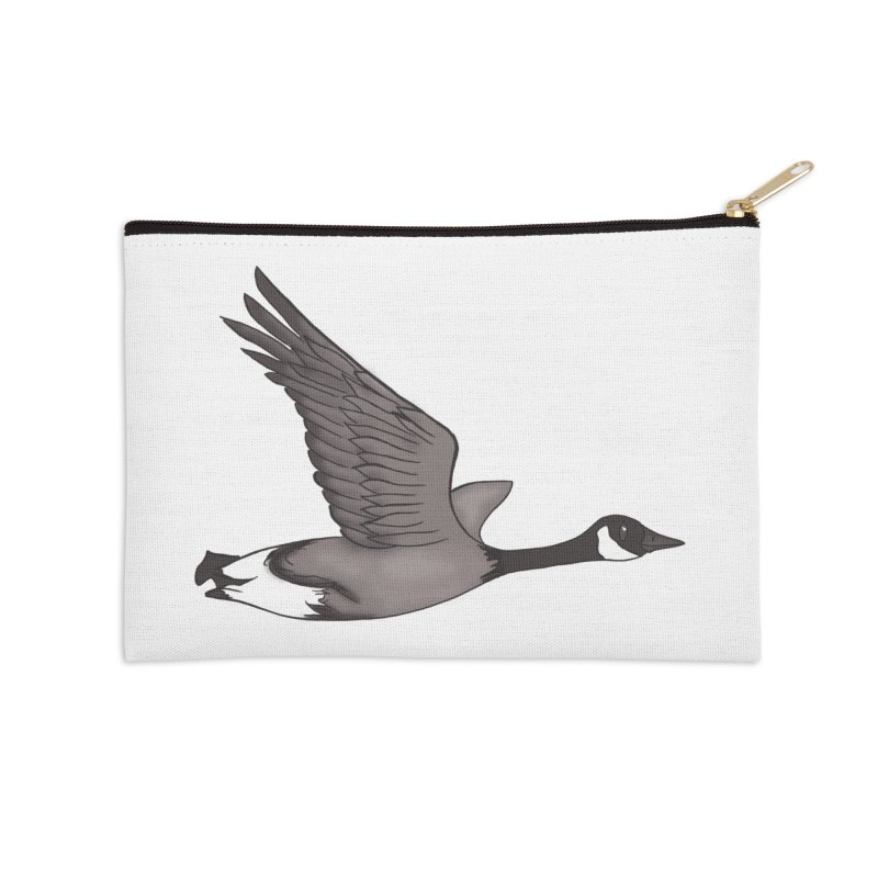 Goose Accessories Zip Pouch by carolyn sehgal's Artist Shop