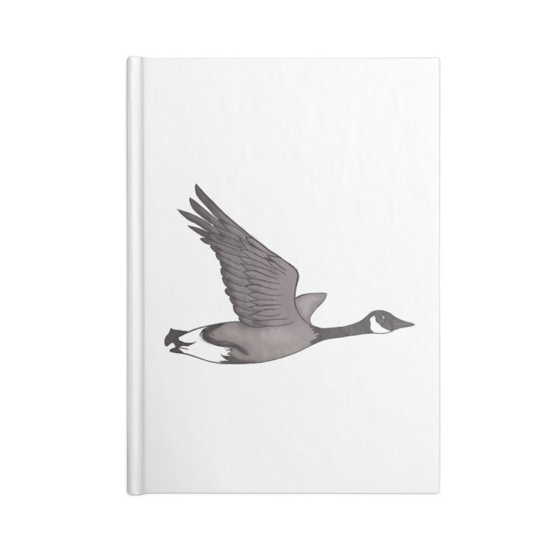 Goose Accessories Notebook by carolyn sehgal's Artist Shop