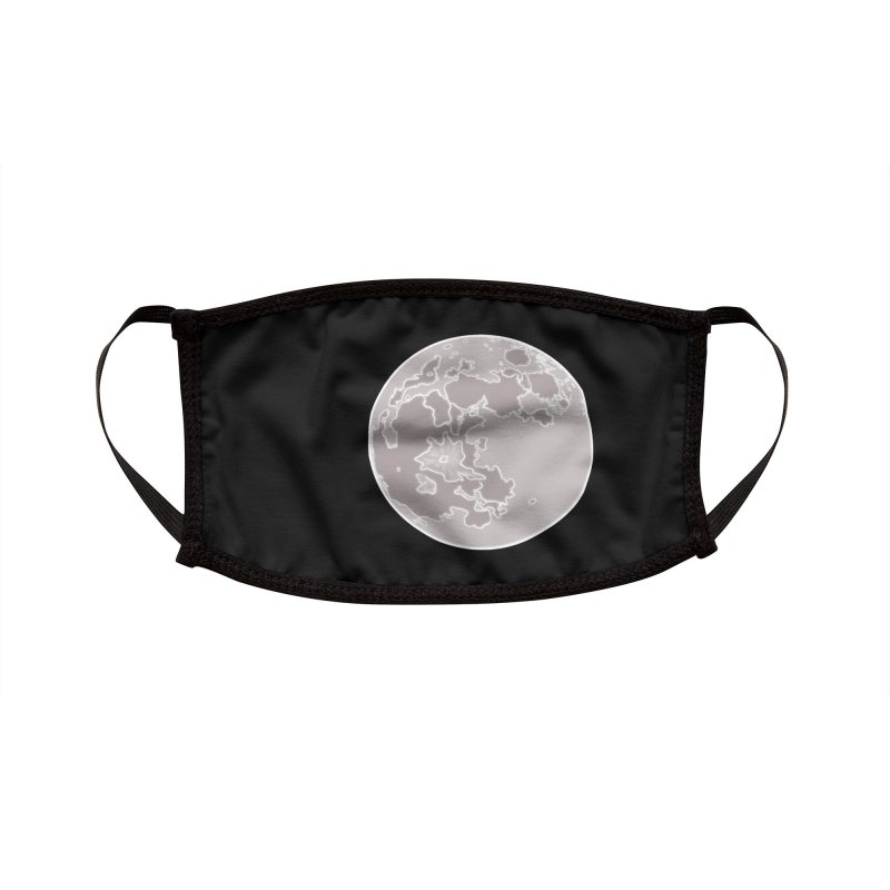 Moon Accessories Face Mask by carolyn sehgal's Artist Shop