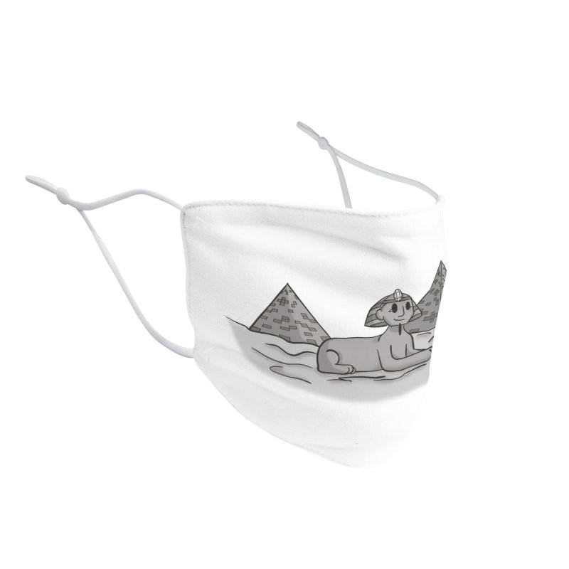 Sphinx Accessories Face Mask by carolyn sehgal's Artist Shop