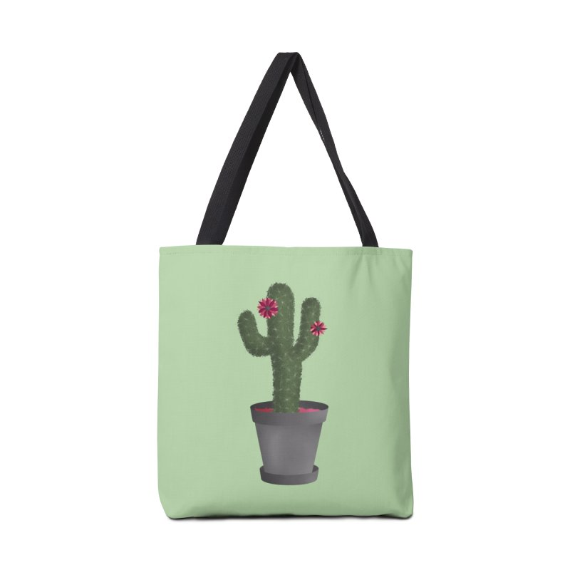 Cactus Accessories Bag by carolyn sehgal's Artist Shop