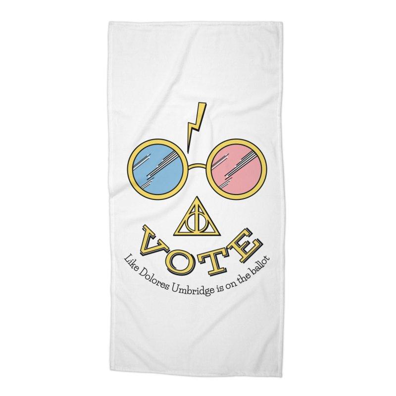 Vote!!! Accessories Beach Towel by carolyn sehgal's Artist Shop