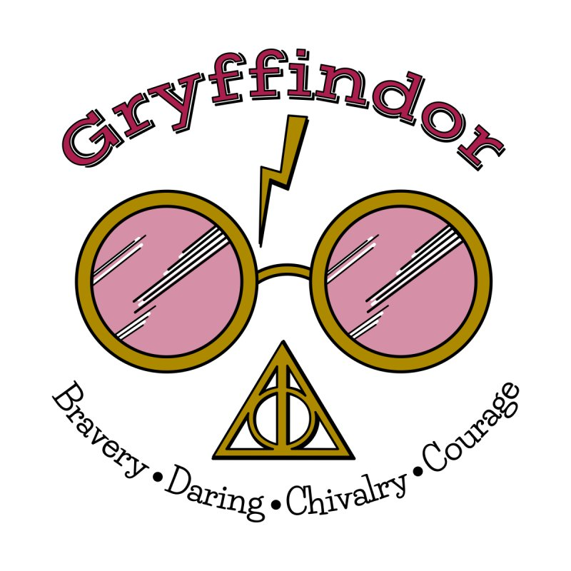 Better be.... GRYFFINDOR! Men's T-Shirt by carolyn sehgal's Artist Shop