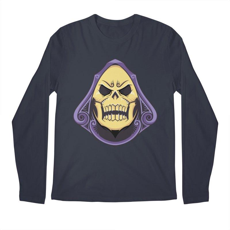 Skeletor Men's Longsleeve T-Shirt by carterson's Artist Shop