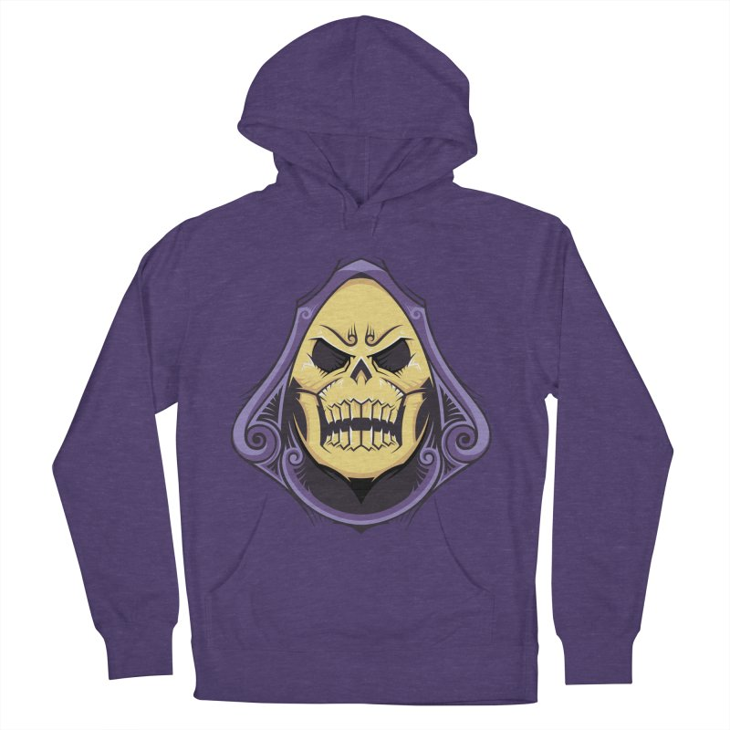Skeletor Women's French Terry Pullover Hoody by carterson's Artist Shop