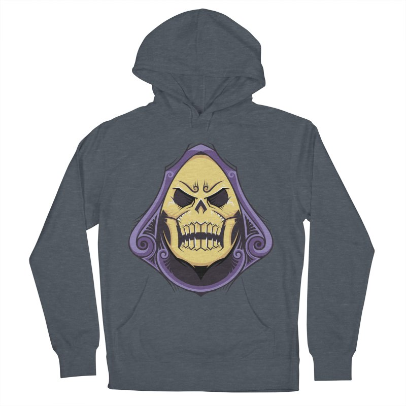 Skeletor Men's French Terry Pullover Hoody by carterson's Artist Shop