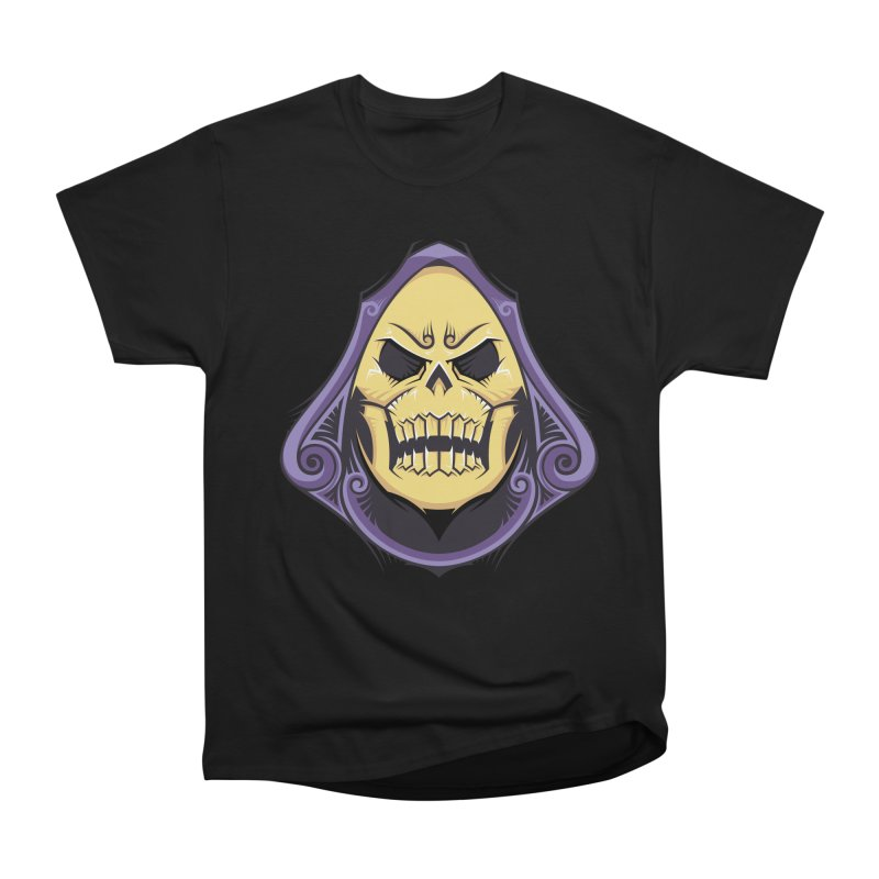 Skeletor Women's Heavyweight Unisex T-Shirt by carterson's Artist Shop