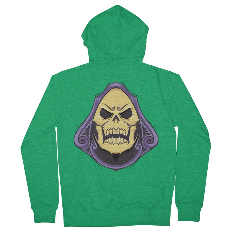Skeletor Women's French Terry Zip-Up Hoody by carterson's Artist Shop