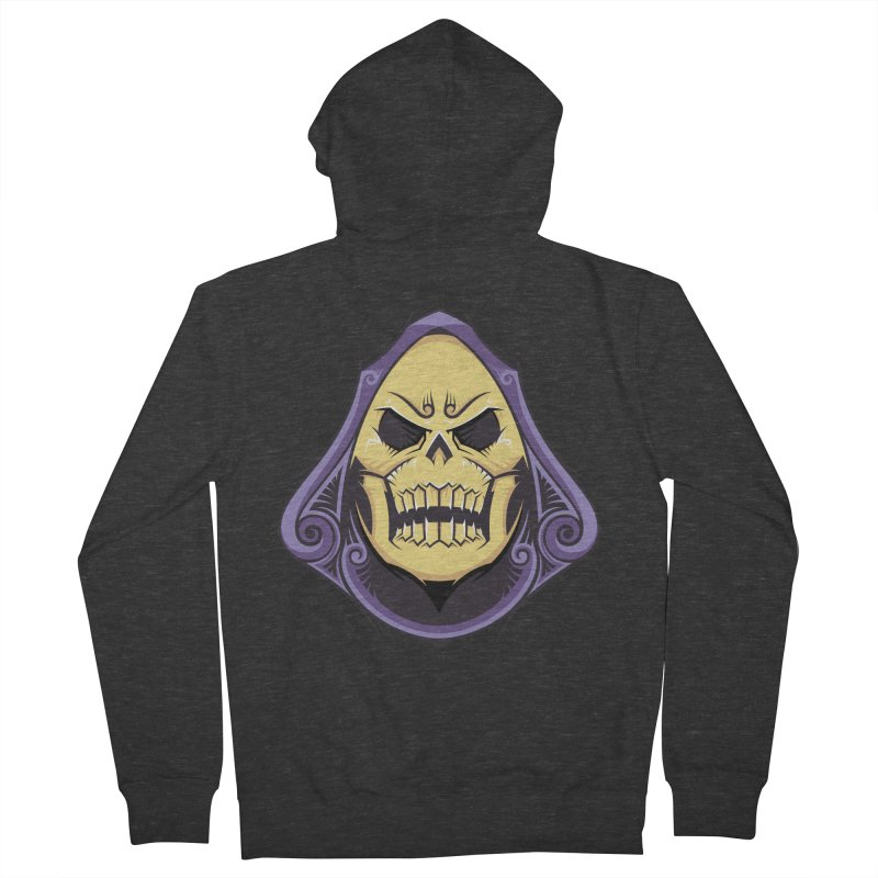 Retro Sorcerer Men's Zip-Up Hoody by carterson's Artist Shop