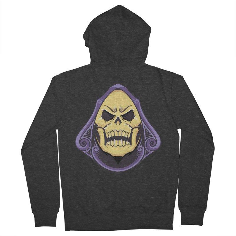 Skeletor Men's Zip-Up Hoody by carterson's Artist Shop