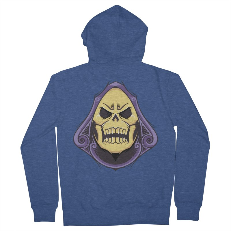 Skeletor Men's French Terry Zip-Up Hoody by carterson's Artist Shop