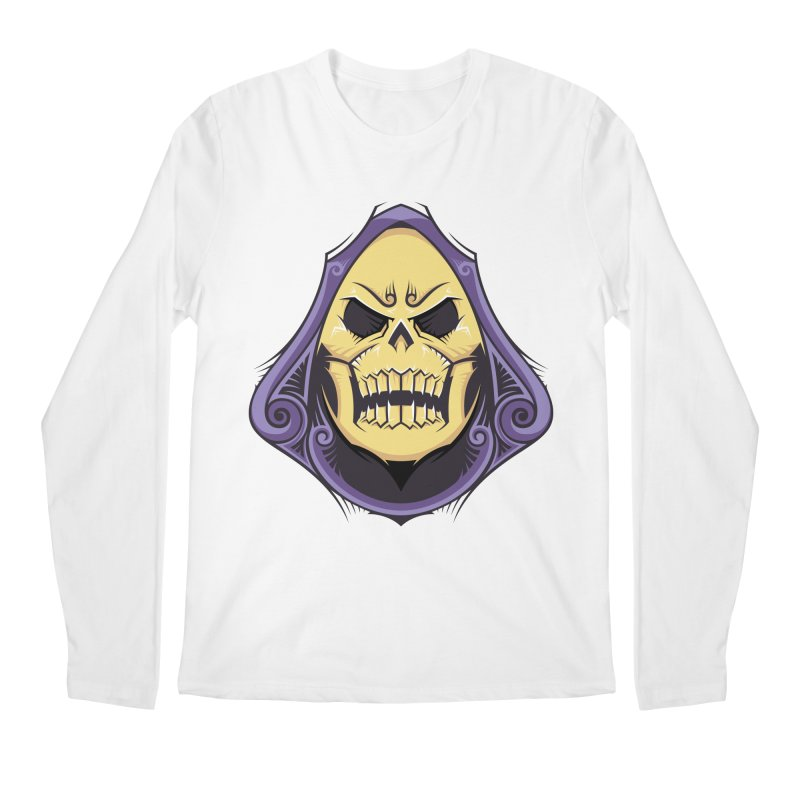 Skeletor Men's Regular Longsleeve T-Shirt by carterson's Artist Shop