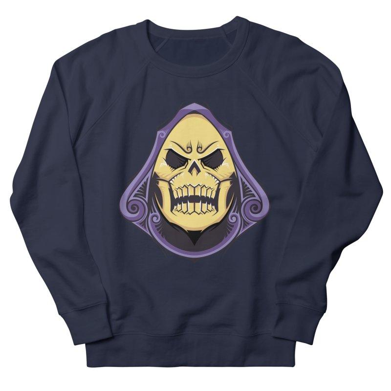 Skeletor Men's French Terry Sweatshirt by carterson's Artist Shop