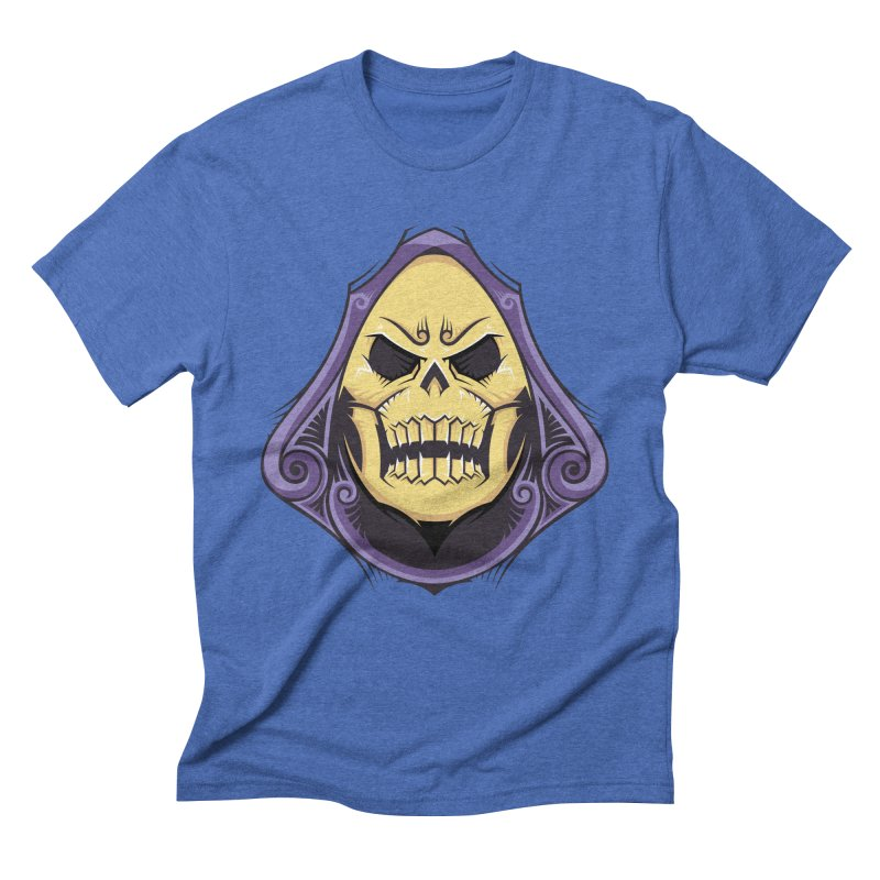 Skeletor Men's Triblend T-Shirt by carterson's Artist Shop