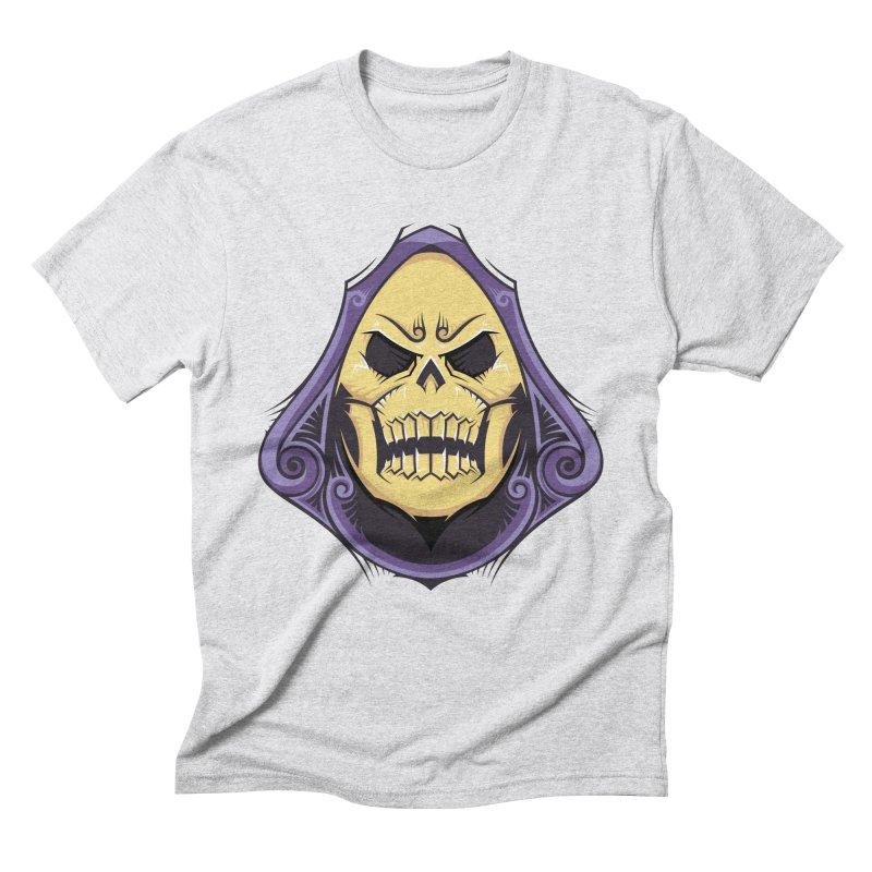 Skeletor Men's Triblend T-Shirt by carterson's Artist Shop