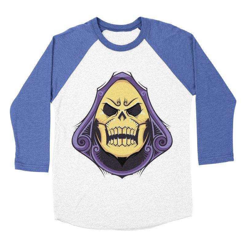 Skeletor Women's Baseball Triblend Longsleeve T-Shirt by carterson's Artist Shop