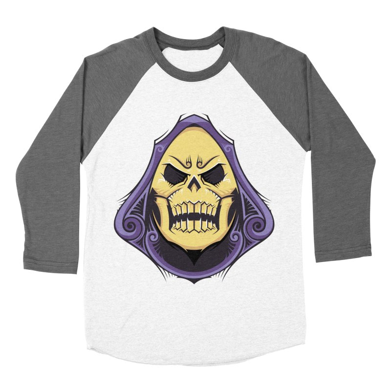 Skeletor Women's Baseball Triblend Longsleeve T-Shirt by carterson's Artist Shop