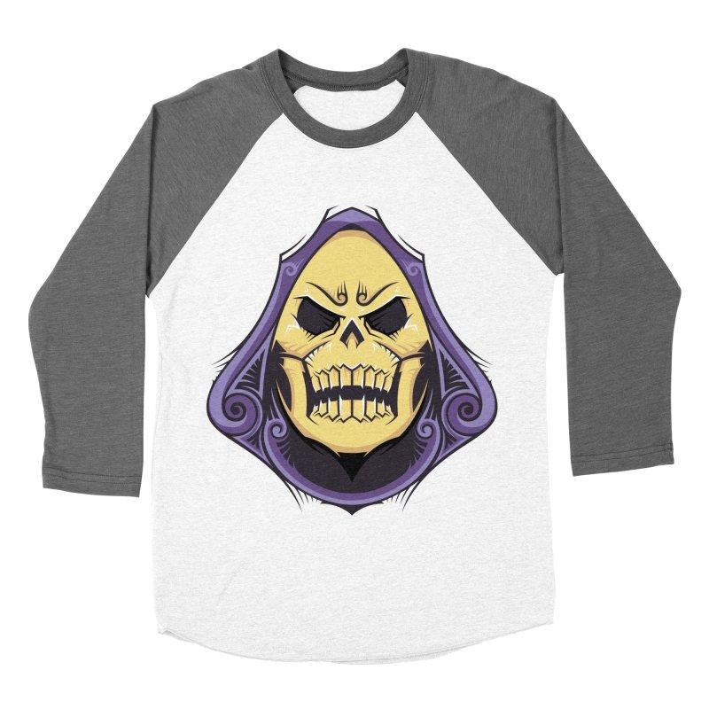 Skeletor Men's Baseball Triblend Longsleeve T-Shirt by carterson's Artist Shop