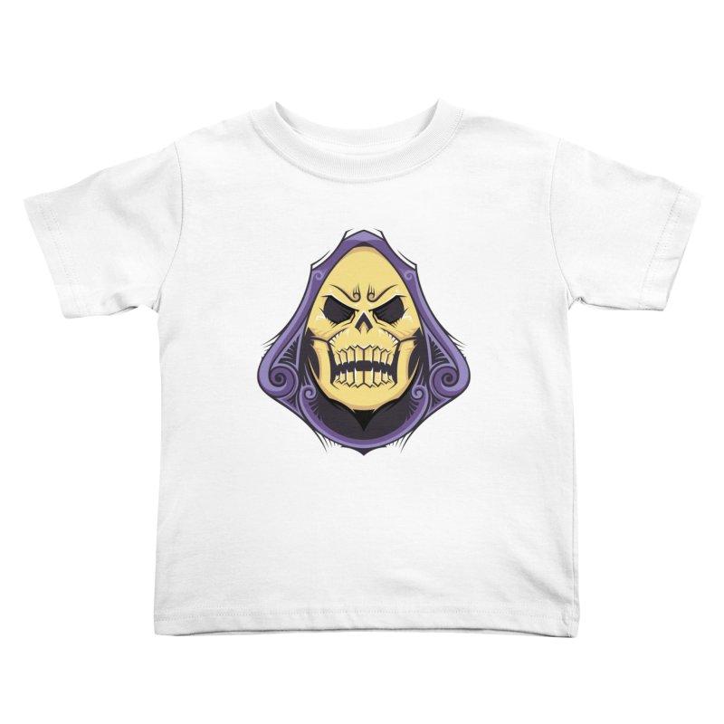 Skeletor Kids Toddler T-Shirt by carterson's Artist Shop