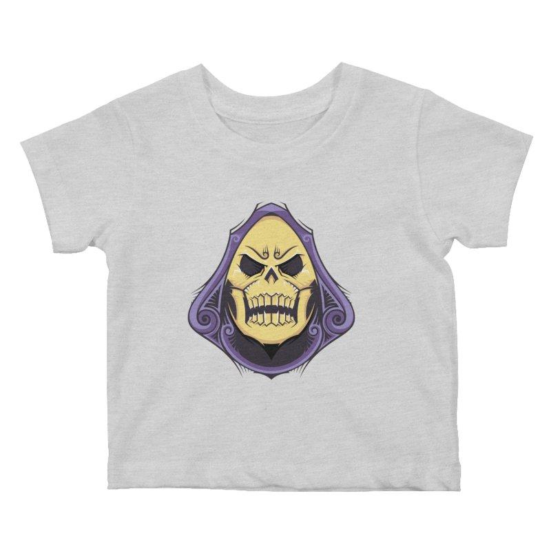 Skeletor Kids Baby T-Shirt by carterson's Artist Shop