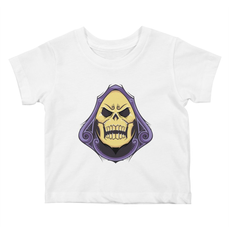 Skeletor Kids Baby T-Shirt by carterson's Artist Shop