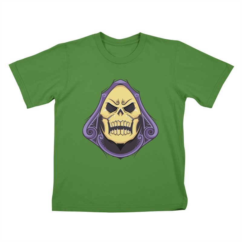 Retro Sorcerer Kids T-Shirt by carterson's Artist Shop