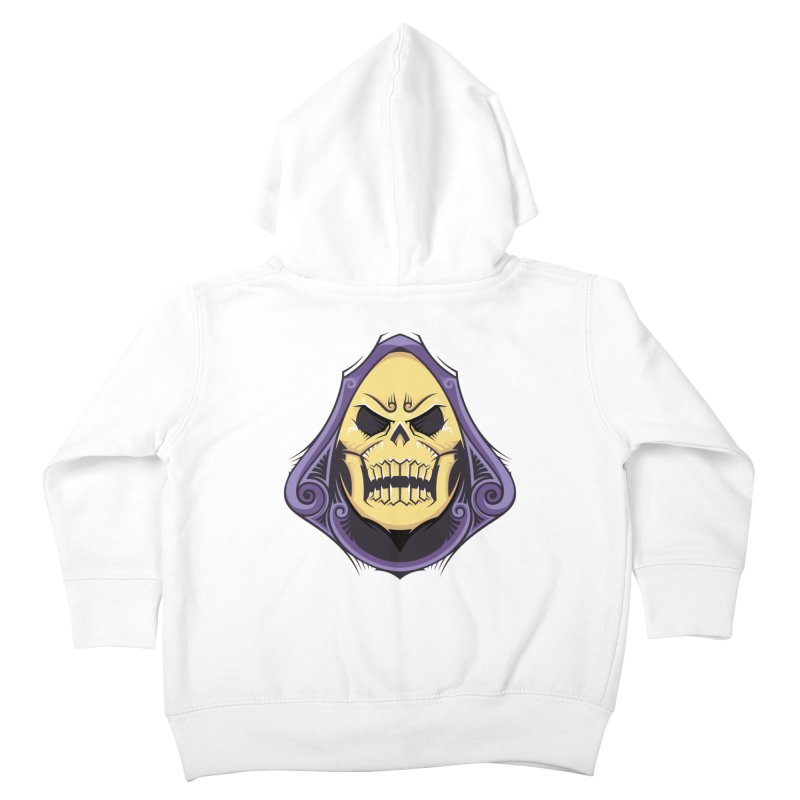 Skeletor Kids Toddler Zip-Up Hoody by carterson's Artist Shop