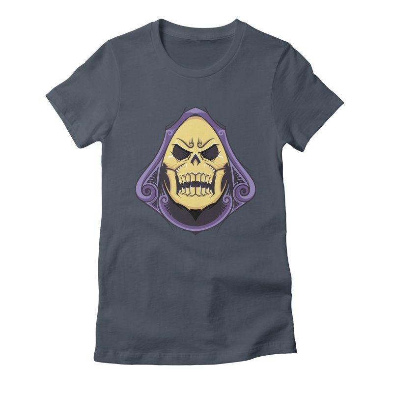 Skeletor Women's T-Shirt by carterson's Artist Shop