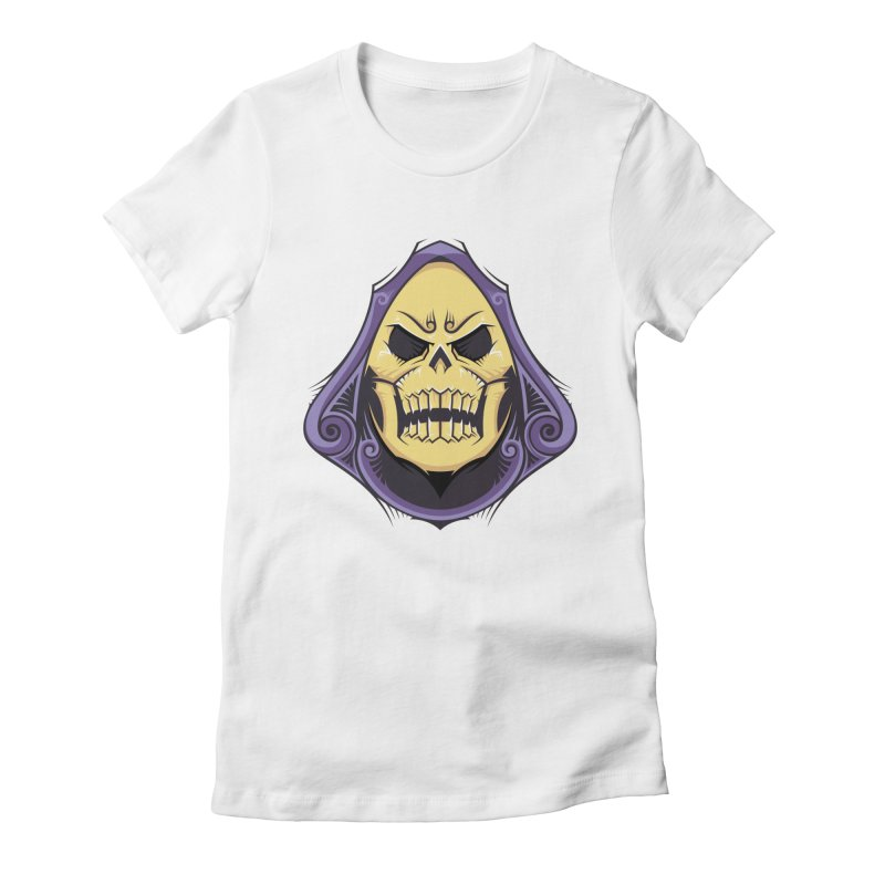 Skeletor Women's T-Shirt by carterson's Artist Shop