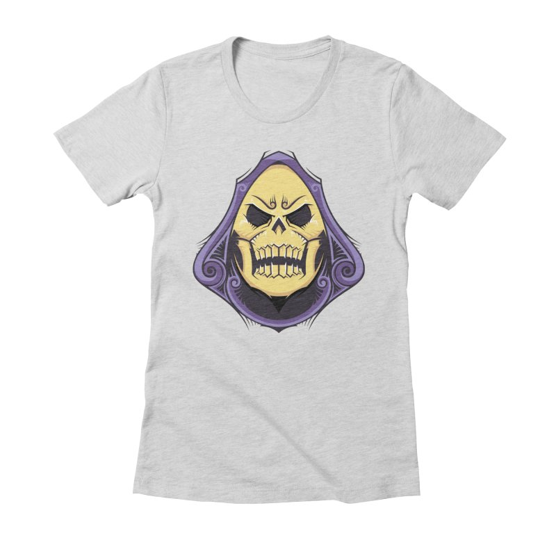 Retro Sorcerer Women's Fitted T-Shirt by carterson's Artist Shop