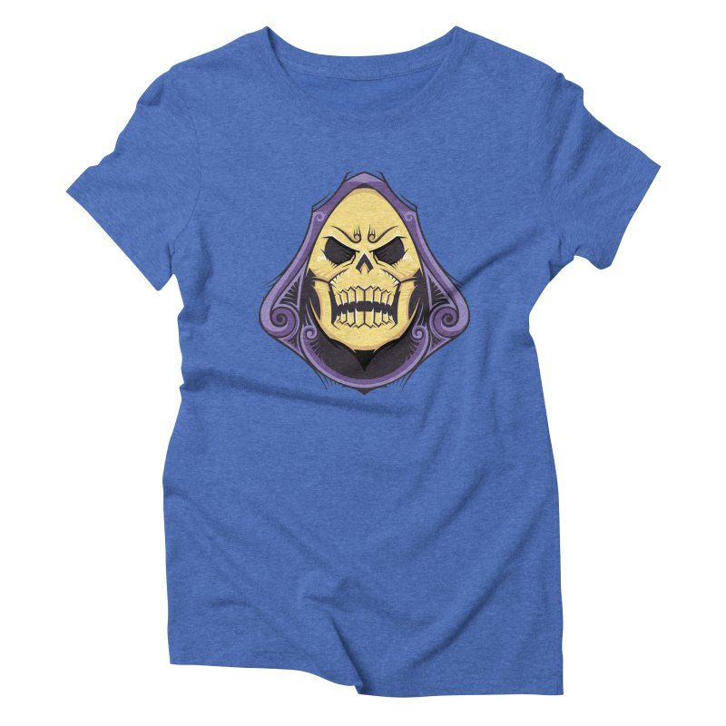 Skeletor Women's Triblend T-Shirt by carterson's Artist Shop