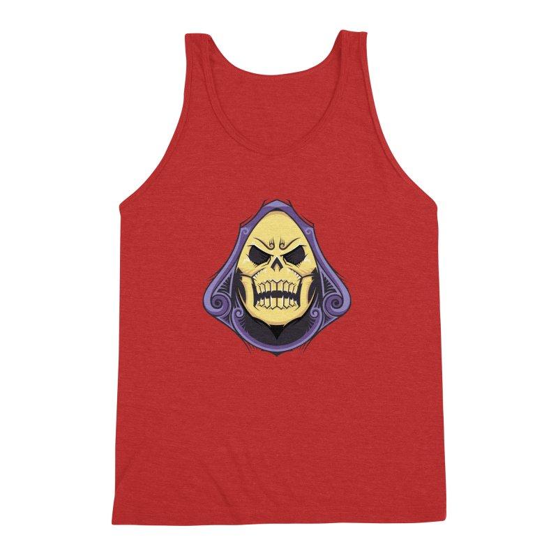 Skeletor Men's Triblend Tank by carterson's Artist Shop