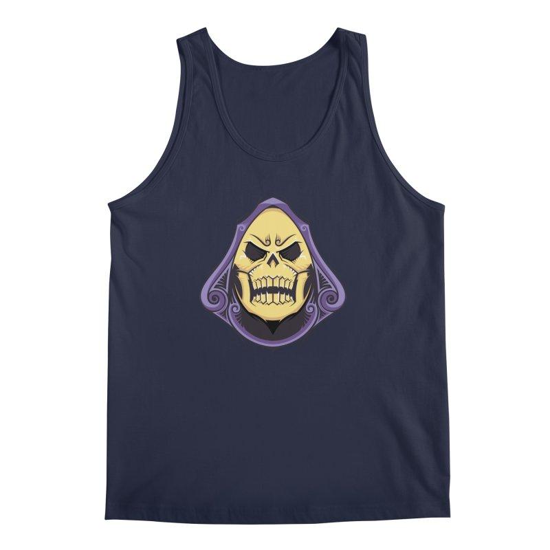 Skeletor Men's Regular Tank by carterson's Artist Shop