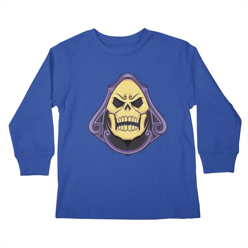 Retro Sorcerer Kids Longsleeve T-Shirt by carterson's Artist Shop