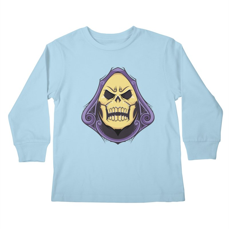 Retro Sorcerer Kids Longsleeve T-Shirt by carterson's Artist Shop