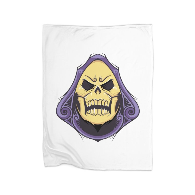 Retro Sorcerer Home Blanket by carterson's Artist Shop