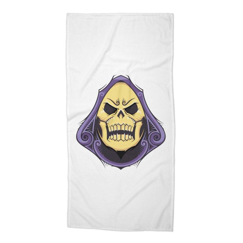 Retro Sorcerer Accessories Beach Towel by carterson's Artist Shop