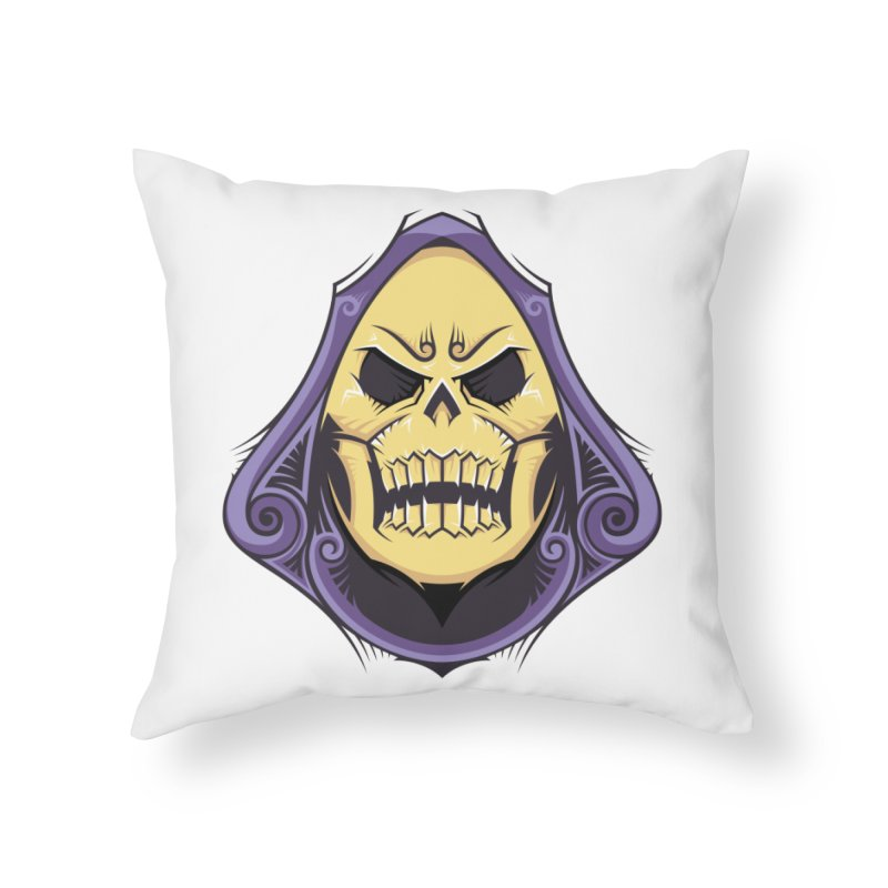 Retro Sorcerer Home Throw Pillow by carterson's Artist Shop