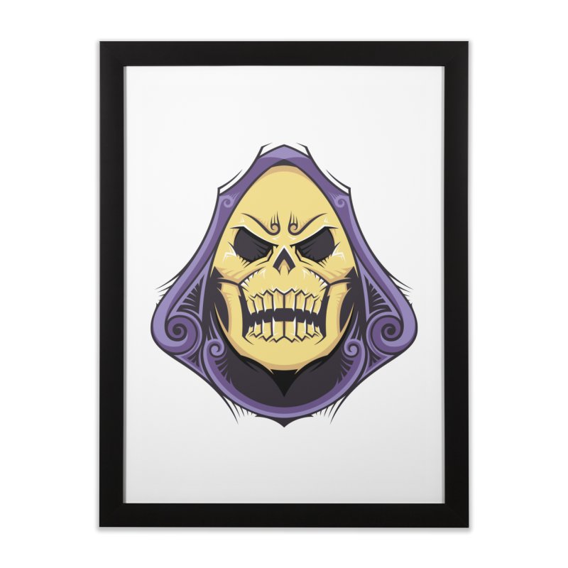 Skeletor Home Framed Fine Art Print by carterson's Artist Shop