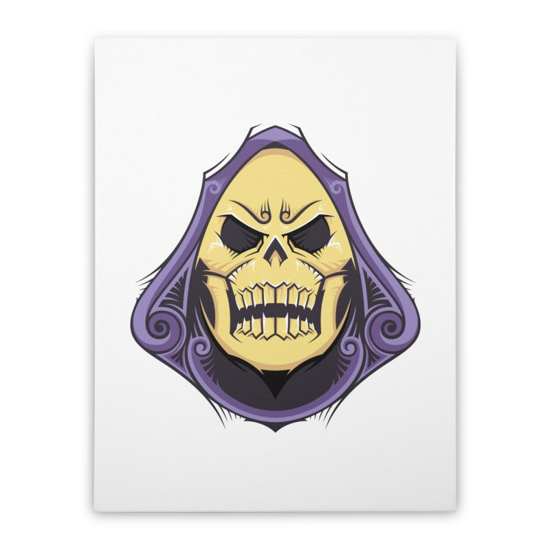 Retro Sorcerer Home Stretched Canvas by carterson's Artist Shop