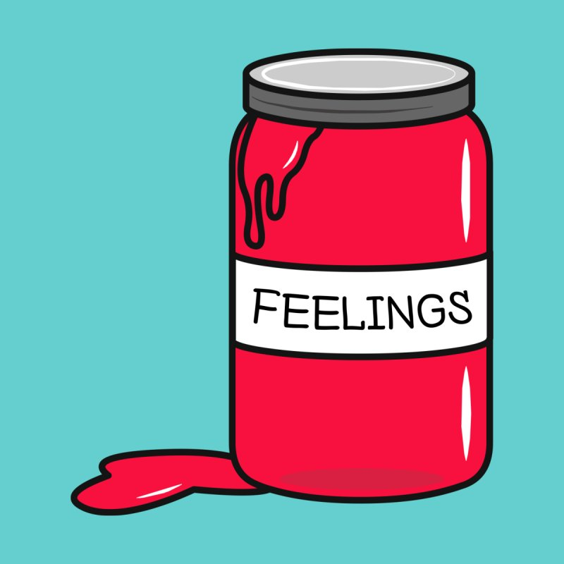 Feelings in a Jar Men's T-Shirt by cartoonbeing's Artist Shop