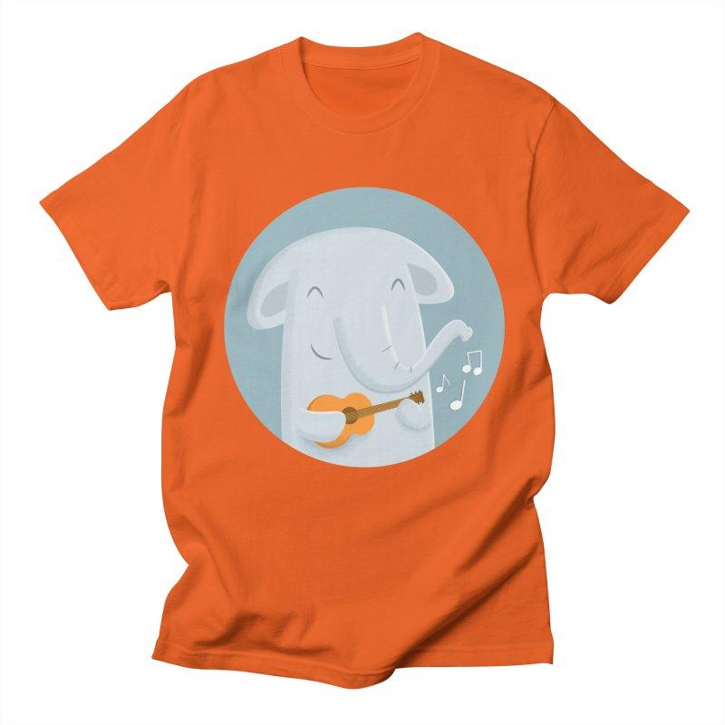 Nice Song, Elephant Men's T-Shirt by cartoonbeing's Artist Shop