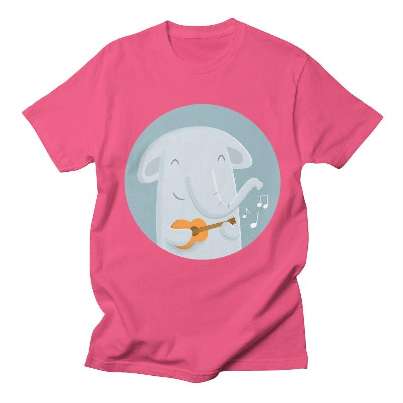 Nice Song, Elephant Men's Regular T-Shirt by cartoonbeing's Artist Shop