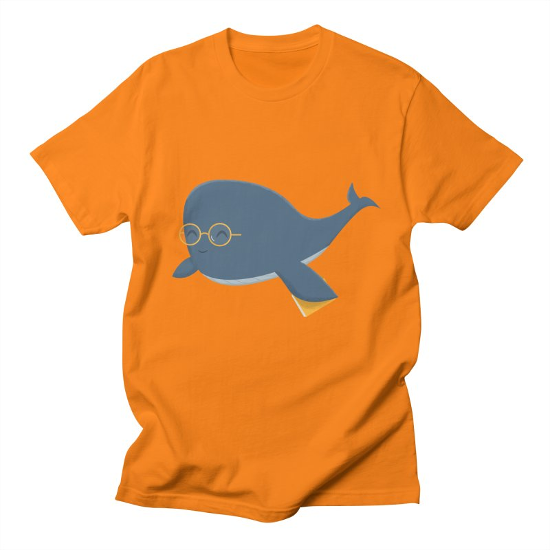 Ms. Whale Men's Regular T-Shirt by cartoonbeing's Artist Shop