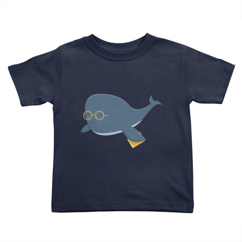 Ms. Whale Kids Toddler T-Shirt by cartoonbeing's Artist Shop