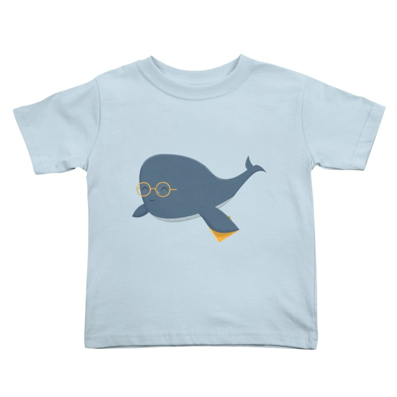 Ms. Whale Kids Toddler T-Shirt by cartoonbeing's Artist Shop