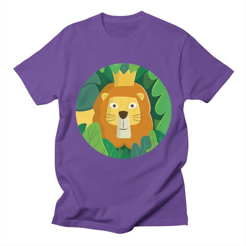 King of the Jungle Men's Regular T-Shirt by cartoonbeing's Artist Shop